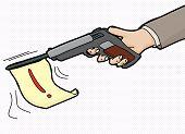Loud Gun Symbol