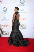 LOS ANGELES - FEB 6:  Toccara Jones at the 46th NAACP Image Awards Arrivals at a Pasadena Convention Center on February 6, 2015 in Pasadena, CA