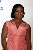 LOS ANGELES - FEB 6:  Uzo Aduba at the 46th NAACP Image Awards Arrivals at a Pasadena Convention Center on February 6, 2015 in Pasadena, CA