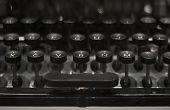 pic of old vintage typewriter  - Closeup of Keyboard of Old Black Vintage Typewriter - JPG