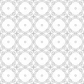 stock photo of arabic  - Abstract Seamless Geometric Islamic Wallpaper - JPG