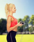 picture of skipping rope  - sport - JPG