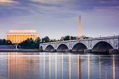 pic of washington skyline  - Washington DC - JPG
