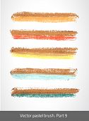 pic of stroking  - Vector set colorful stroke - JPG