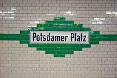 Potsdamer Platz Plaque