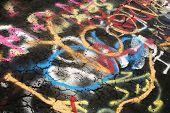 Pavement Grafitti