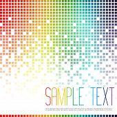 Fondo de mosaico multicolor