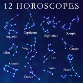 image of planetarium  - Vector Horoscopes - JPG