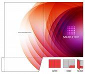 Vector Folder Design Template