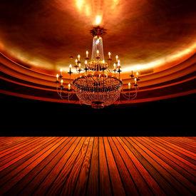 picture of flambeau  - elegant ballroom - JPG