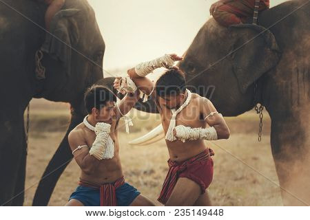 Martial Arts Of Muay Thaiaction