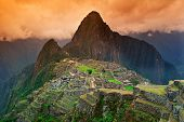 Signature Shot Of Machu Picchu