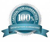100% Satisfaction Guaranteed Sign