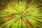 Psychedelic Hypnotic Unrealistic Abstract Speedy Pink Greed Background, Motion Blur Effect, Zoom Mot poster