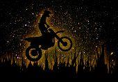 Mx Rider Silhouette