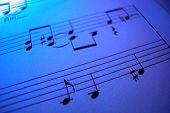 Purple Sheet Music
