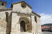 Church of San Miguel, Romanesque transition, thirteenth century. Brihuega, spain