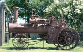 Old Case Steam Powered Tractor