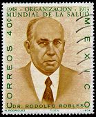 Portrait Of Dr.valverde Rodolfo Robles