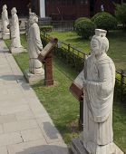 Confucian Scholar Statues in Nanjing China