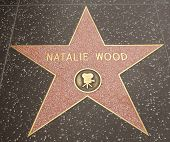 The Hollywood Star for Natalie Wood