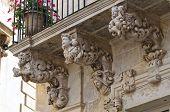 Marrese palace. Lecce. Puglia. Italy.