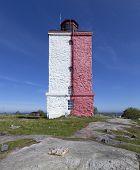 Lighthouse on Uto Island in Finland