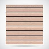 Siding Texture Panel Beige Color