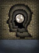 Постер, плакат: Прорваться сквозь стены к успеху