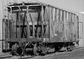 Abandoned Hopper Rail Car