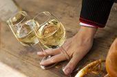 riesling alemão no festival do vinho