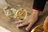 german riesling at wine festival