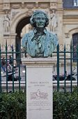Bust Of Marc Seguin, Famous Engineer. Paris, France