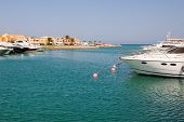 picture of tig  - View of Abu Tig Marina - JPG