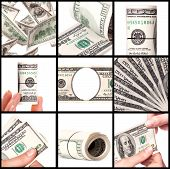 Background With Money -  American Dollars