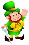 St. Patrick's Day - Cartoon Character- Vector Illustration