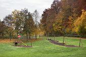 Autumn Playground Scenery