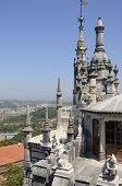 Sintra Seen From The Top Of Quinta Da Regaleira