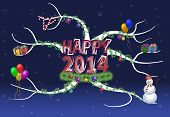 New Year 2014 Mind Map