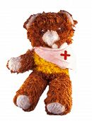 Broken Armed Teddy Bear