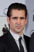 LOS ANGELES - NOV 7:  Colin Farrel at the Emma Thompson Hand and Footprint Ceremony at TCL Chinese T