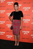 LOS ANGELES - NOV 6:  Aisha Dee at the CRUSH by ABC Family Clothing Line Launch at London Hotel on N