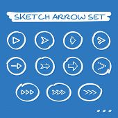 Sketch arrow set