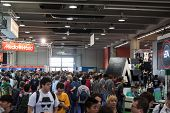 People At Games Week 2013 In Milan, Italy