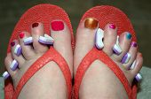Fanciful Pedicure
