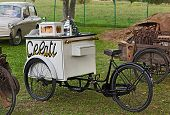Old Ice Cream Bicycle