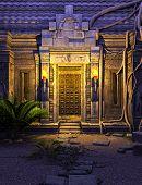 Fantasy Temple Gate