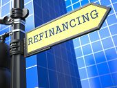 Refinancing. Business Concept.