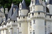Castel of Rigny-Usse Known as the Sleeping Beauty Castle and built in the eleventh century. Loire Va