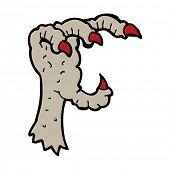 cartoon eagle claw
